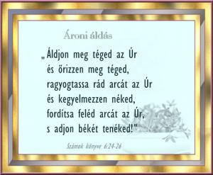 ÁRONI ÁLDÁS