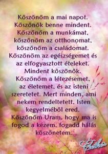köszönöm Uram az Eletemet...Boldogságomat...Szerelmemet...