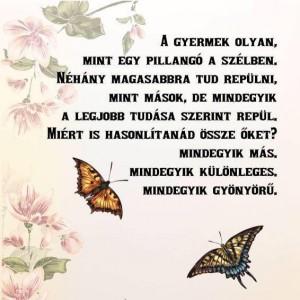 mint a pillangó
